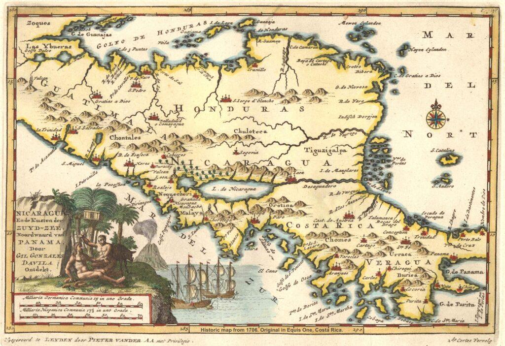 Equis Rallyes Centroamerica Mapa 1706