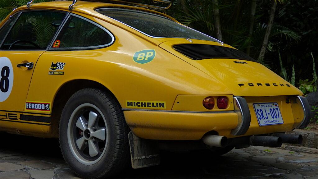 Equis Rallyes Centroamerica Porsche 911