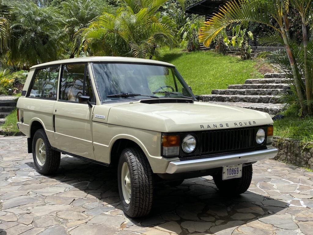 Equis Rallyes Costa Rica Range Rover Vintage