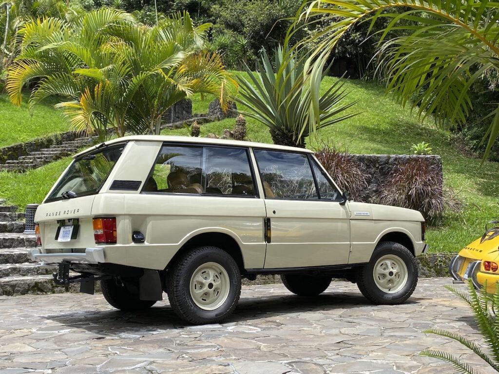 Range Rover Clasico coche de rally